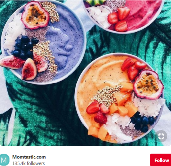 The Diet of the Common Sense - Rainbow Colored Smoothie Bowl3