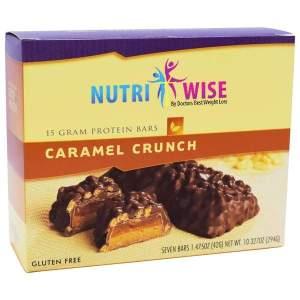 NutriWise Caramel Crunch Protein Diet Bar (7/Box) Image