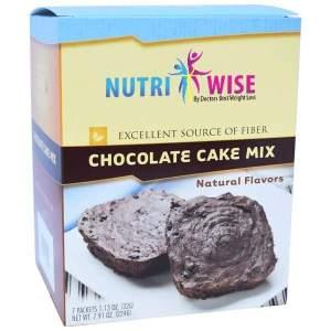 NutriWise Diet Chocolate Cake Mix (7/Box) Image