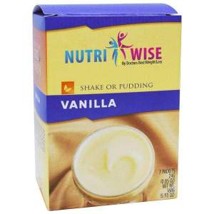 NutriWise Vanilla Diet Protein Shake or Pudding (7/Box) Image