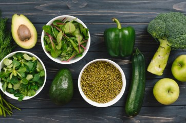 Greeny leaves vegetables