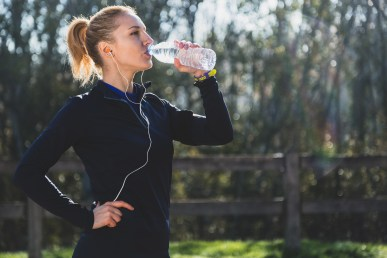 Drink water during sport