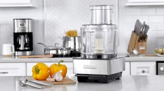 2.1 Cuisineart Stainless Steel Food Processor and Blender