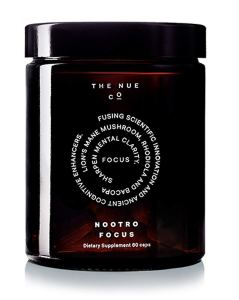 The Nue Co. - Nootro-Focus (For Mental Clarity + Focus, 60 capsules) Image