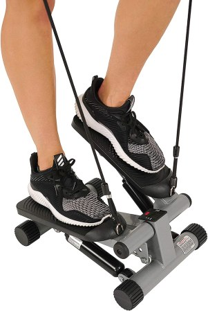 Health & Fitness Mini Stepper with Resistance Bands