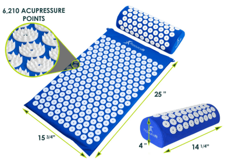 ProsourceFit's Acupressure Mat and Pillow Set
