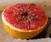 Broiled Grapefruit with Brown Sugar Recipe