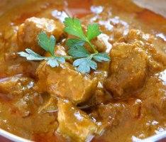 Lamb Curry with Plain Yogurt (Atkins Diet Phase 2 Recipe)