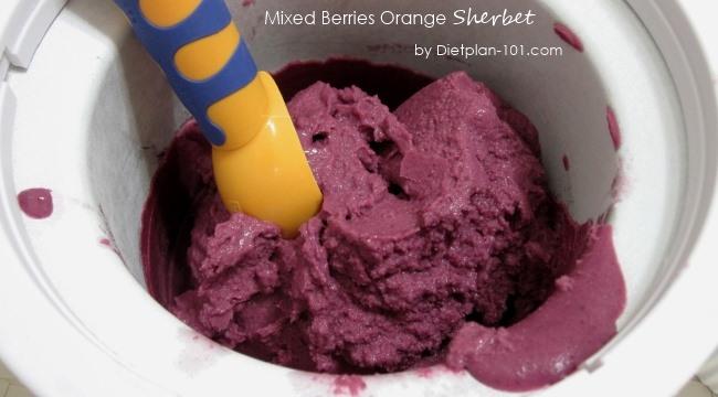 mixed-berries-orange-sherbet-ice-cream-maker