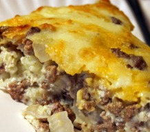 Gluten-Free Beef Cheeseburger Pie Recipe
