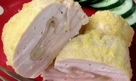 Baked Chicken Cordon Bleu (South Beach Phase 1 Recipe)