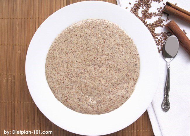 Low Carb Flax Seed Meal Porridge