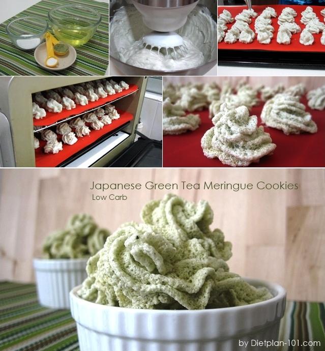 low-carb-green-tea-meringue-cookies-steps