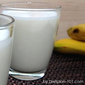 Banana Almond Milk Smoothie (Diabetic Recipe)
