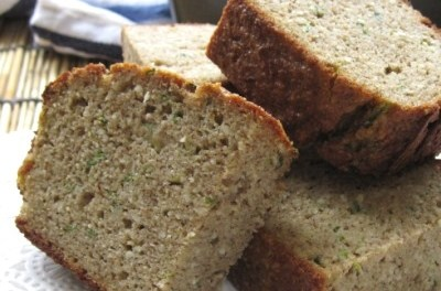 Zucchini Almond Quick Bread (Atkins Diet Phase 2 Recipe)