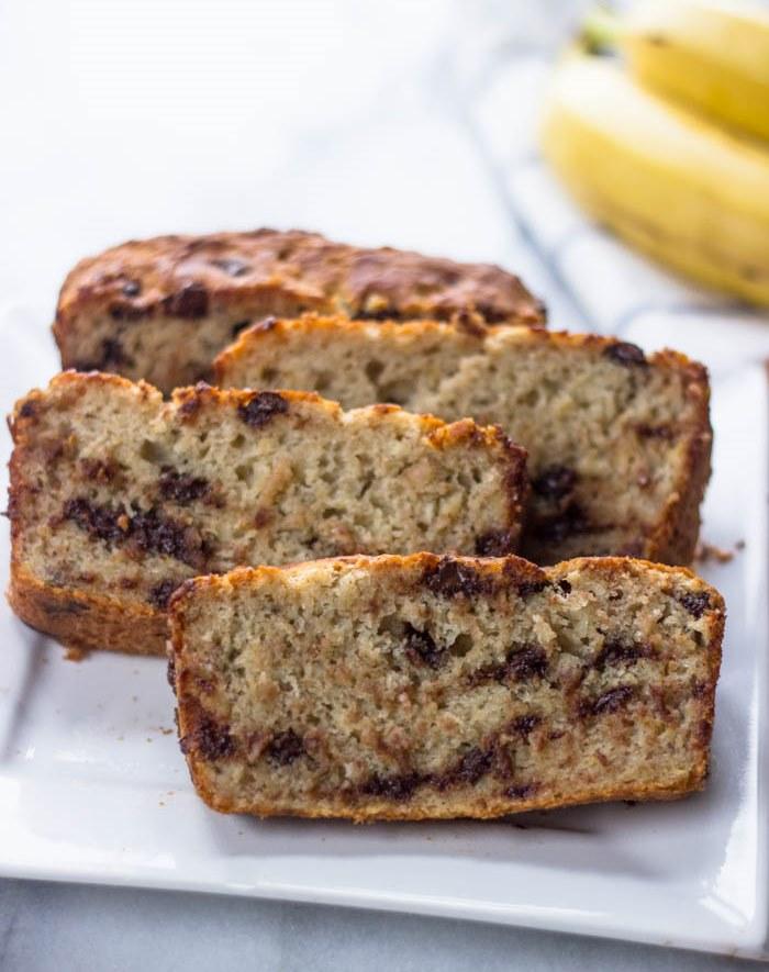 Moist Gluten free banana bread