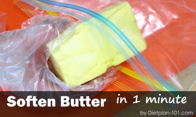 How to Soften Butter without Microwave,  in 1 Minute