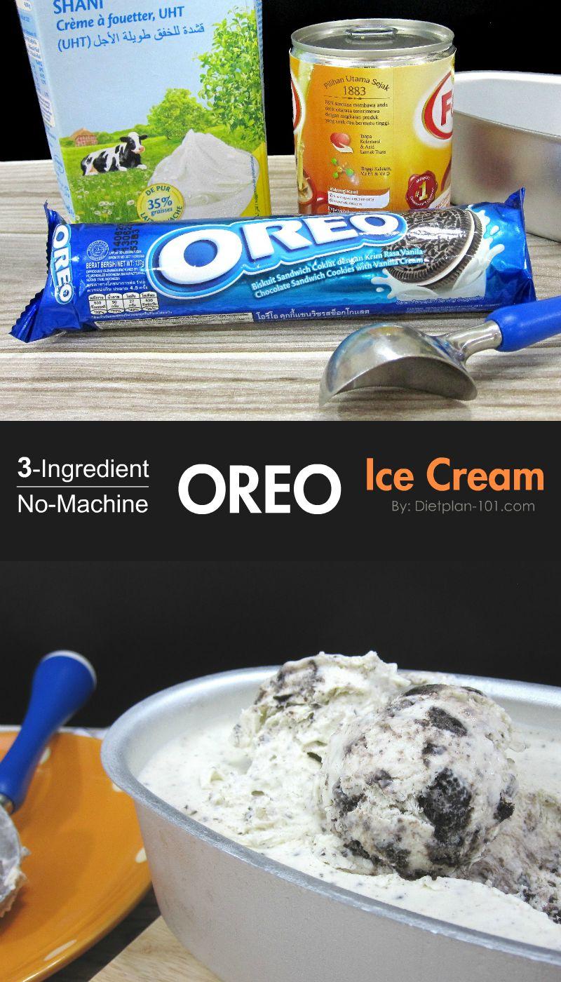 3-Ingredient Oreo Ice Cream