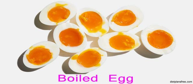 boiled egg to lose weight