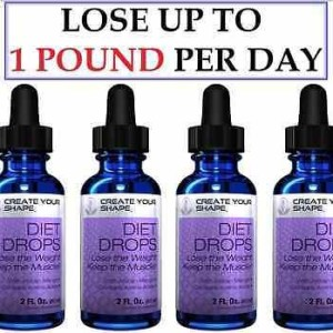 4 Pack HCG Free Diet Drops Supplement Fat Burner Lean Weight Loss 1234 Health