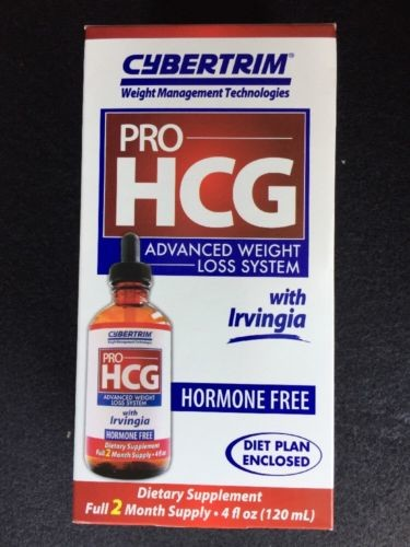 PRO HCG Cybertrim Advanced  Weight Lose Hormone Free W/ Irvingia + DIET Plan