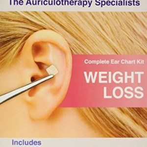 Weight Loss Ear Seed Kit- 120 Vaccaria Ear Seeds, Stainless Steel Tweezer