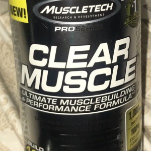 MuscleTech Active Nutrition Clear Muscle Diet & Vitamin Weight Supplement, 84 Ct