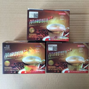 1box AUTHENTIC STRONG SLIMMING INSTANT COFFEE DIET DRINK LOSE WEIGHT NATURALLY