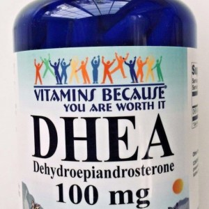 DHEA 100mg 200 Capsules 3 Month Supply Diet Supplement Antioxidant Made In USA