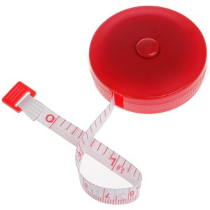 Hot Sale Retractable Ruler Tape Measure 60 inch 1.5m For Sewing Cloth Dieting Tailor
