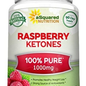 100% Pure Raspberry Ketones 1000mg - 180 Capsules - All Natural Weight Loss Supplement, Max Strength Plus Appetite Suppressant Diet Pills, Premium Lean Health Extract to Boost Energy & Metabolism