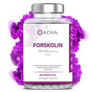 Premium Forskolin for Weight Loss - Natural Carb Blocker, Powerful Metabolism Booster, Pure Appetite Suppressant, 500 mg Extract, Belly Fat Burner, Diet Pills that Work Fast for Women & Men, Luna Trim