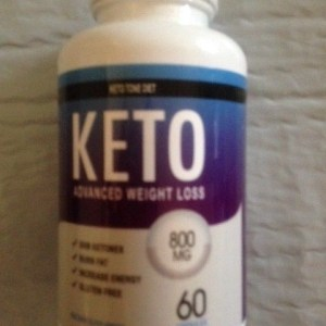 New! 60 Count Bottle KETO Tone Diet Advanced Weight Loss Capsules 800mg