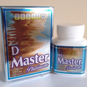 DIET MASTER NEW PRESENTATION 15 CAPS 100% ORIGINAL PLATINUM D MASTER CAPSULAS