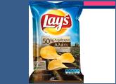 Πατατάκια με 50% λιγότερο αλάτι Lay's