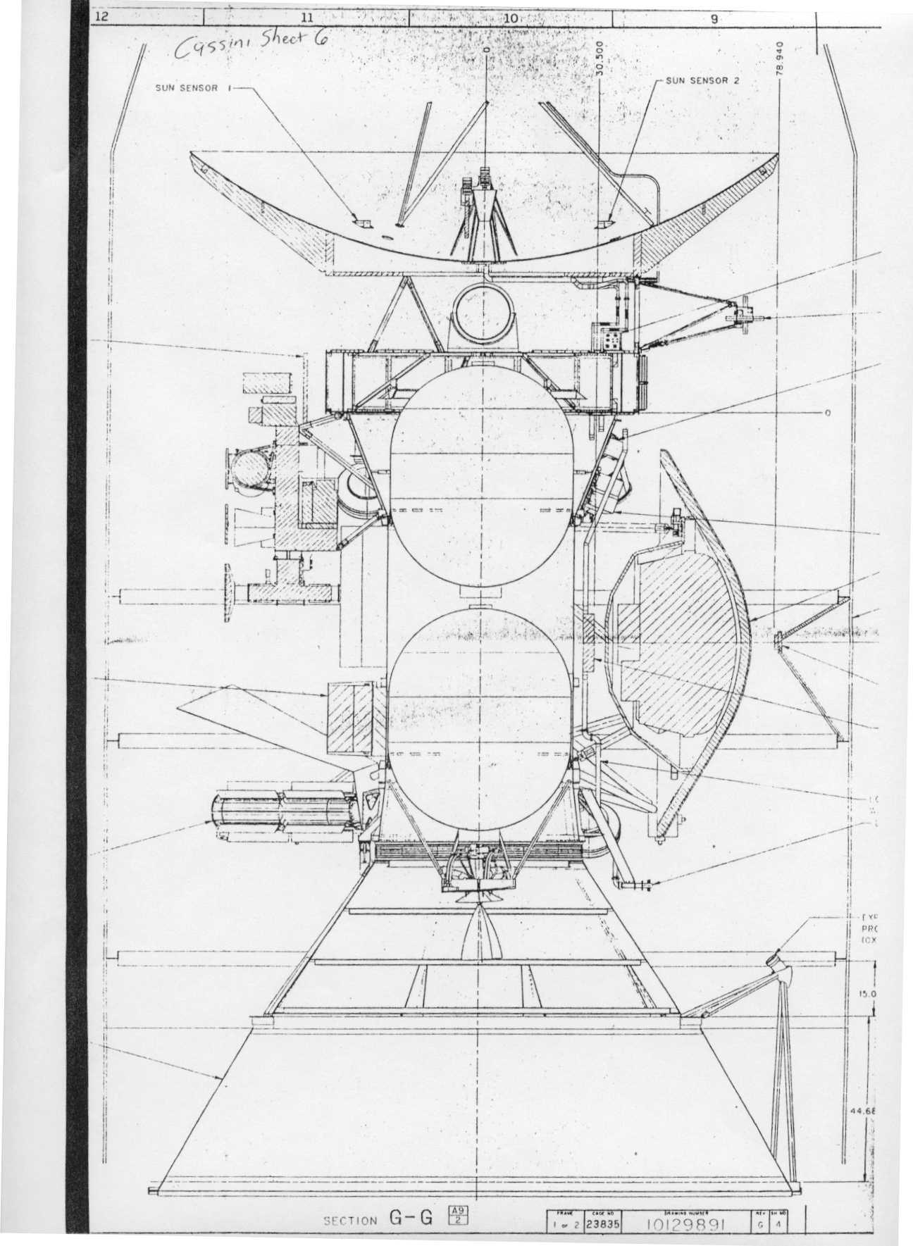 Cassini Spacecraft Saturnian System Petitulois