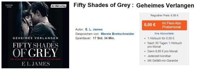 Fifty Shades of Grey Hörbuch