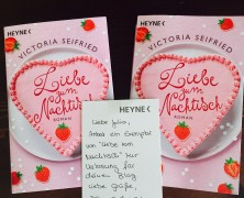 """Gewinnspiel + Buchvorstellung  """"Liebe zum Nachtisch"""" Victoria Seifried"""