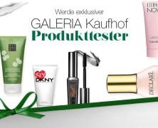 Geheimtipp: Werde Galeria Kaufhof Produkttester ;-)