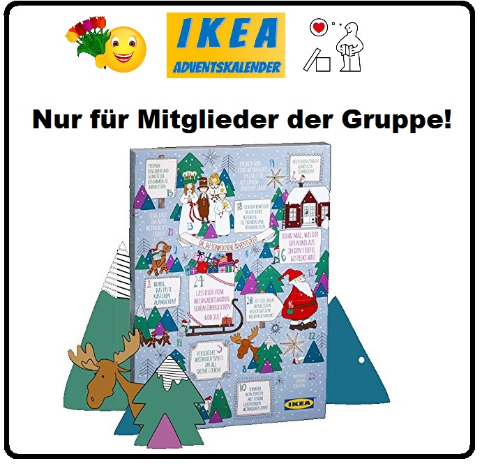 ikea adventskalender kuche. Black Bedroom Furniture Sets. Home Design Ideas