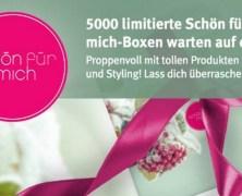 Gewinne BEI UNS eine #sfmbox – Rossmann verlost 5.000x die Schön für mich Box