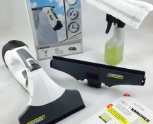 Der Kärcher Fenstersauger WV5 Premium + Video