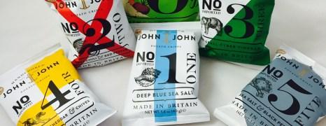 Test: John & John Chips + Gewinne zwei große Produktpakete!