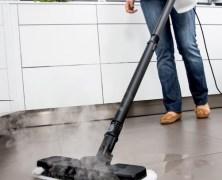 Nur heiße Luft – Der Kärcher SC1 Premium Floor Kit