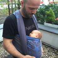 Test: Das Hoppediz Jacquard Tragetuch – ganz nah am Baby