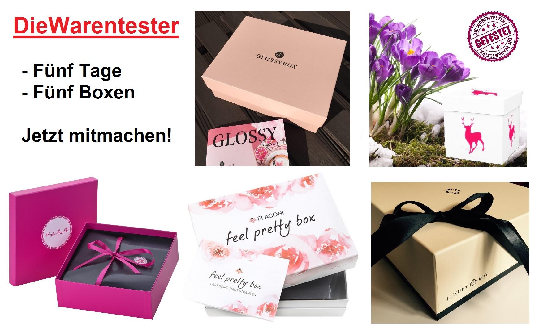 c163e657cfa1ab - Fünf Tage - Fünf Beauty Boxen Gewinnspiel - DieWarentester.de