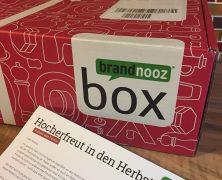 Die Brandnooz Genuss Box Oktober