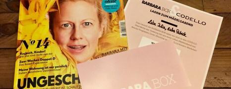 Die neue Barbara Box + Gewinne eine Box!