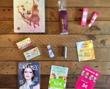 Die Glossybox September in der Beauty World Tour Edition