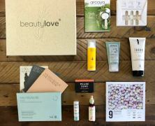"Die beautylove – The Natural Box ""Graceful Leaf"""